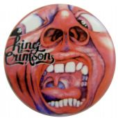 King Crimson - 'In the Court' Button Badge